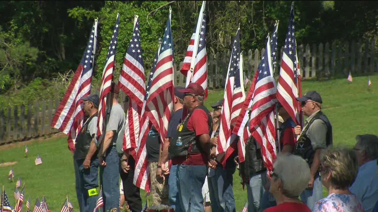 Marylanders pause to honor local heroes on Memorial Day.