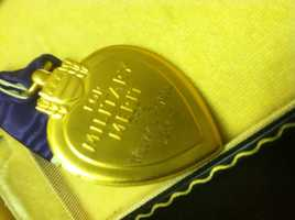 The back of the Purple Heart.  Read the full story here