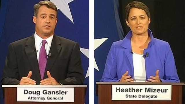 Attorney General Doug Gansler and Delegate Heather Mizeur are the only two Democratic candidates to attend Tuesday evening's 2nd gubernatorial debate.