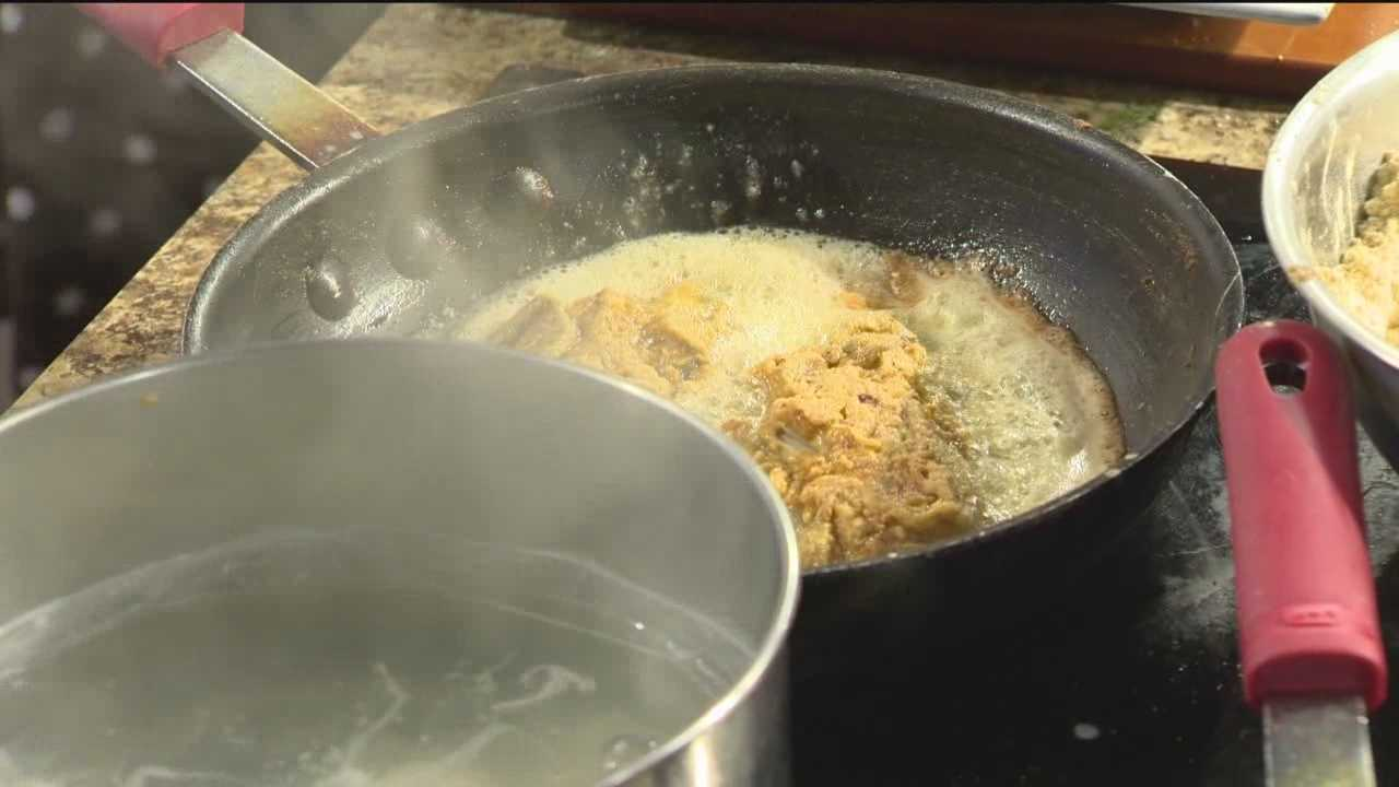 Koopers Restaurant will demonstrate on how to make a Chesapeake Benedict.