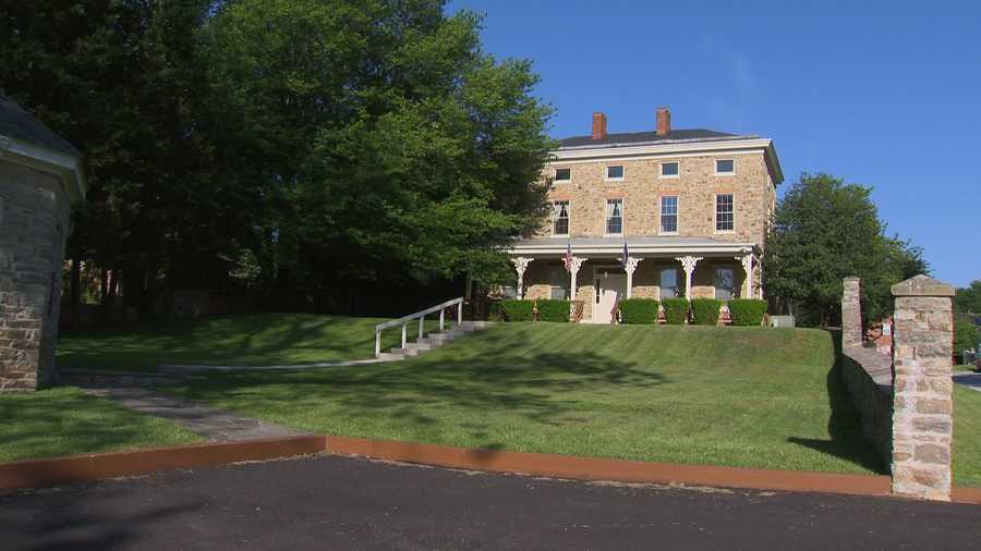 The historic Trentham Mansion in Owings Mills is going on the auction block, so the auctioneers are giving a sneak peak of what's inside.