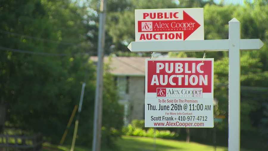 It's up for sale and is going to auction starting at 11 a.m. June 26.