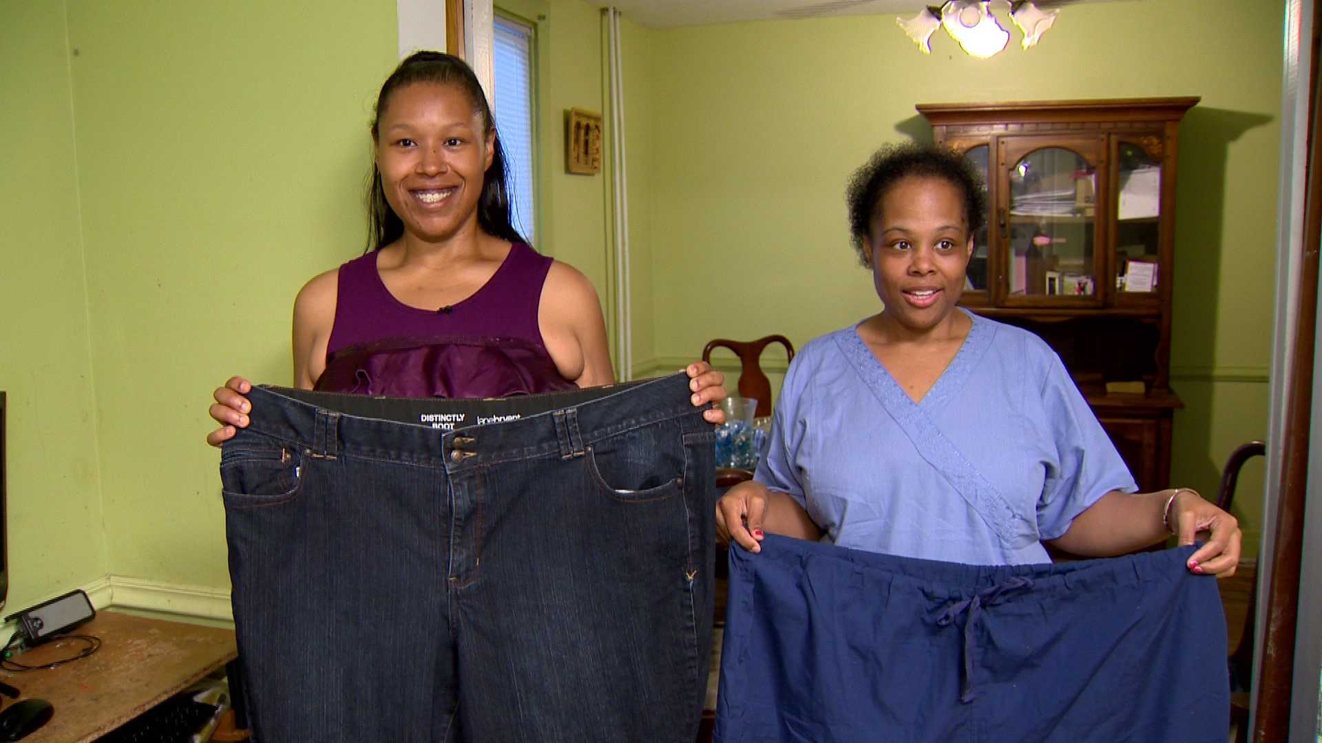 Afrikus Hart and Nikki Massey each lost 100 pounds with the help of bariatric surgery.