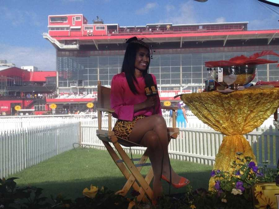 Miri interviewed Preakness attendees and shared photos.