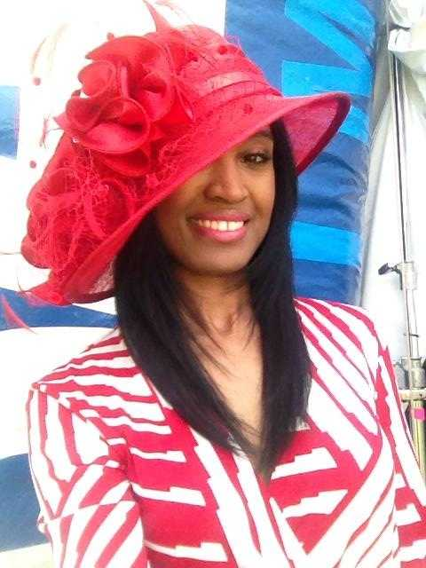 Miri was excited to take part for the first time in WBAL-TV 11's coverage of the Preakness Stakes.