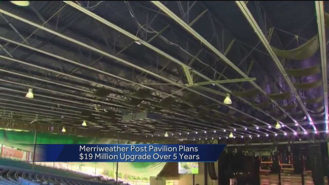 Merriweather Post Pavilion will remain open while undergoing several renovation projects.