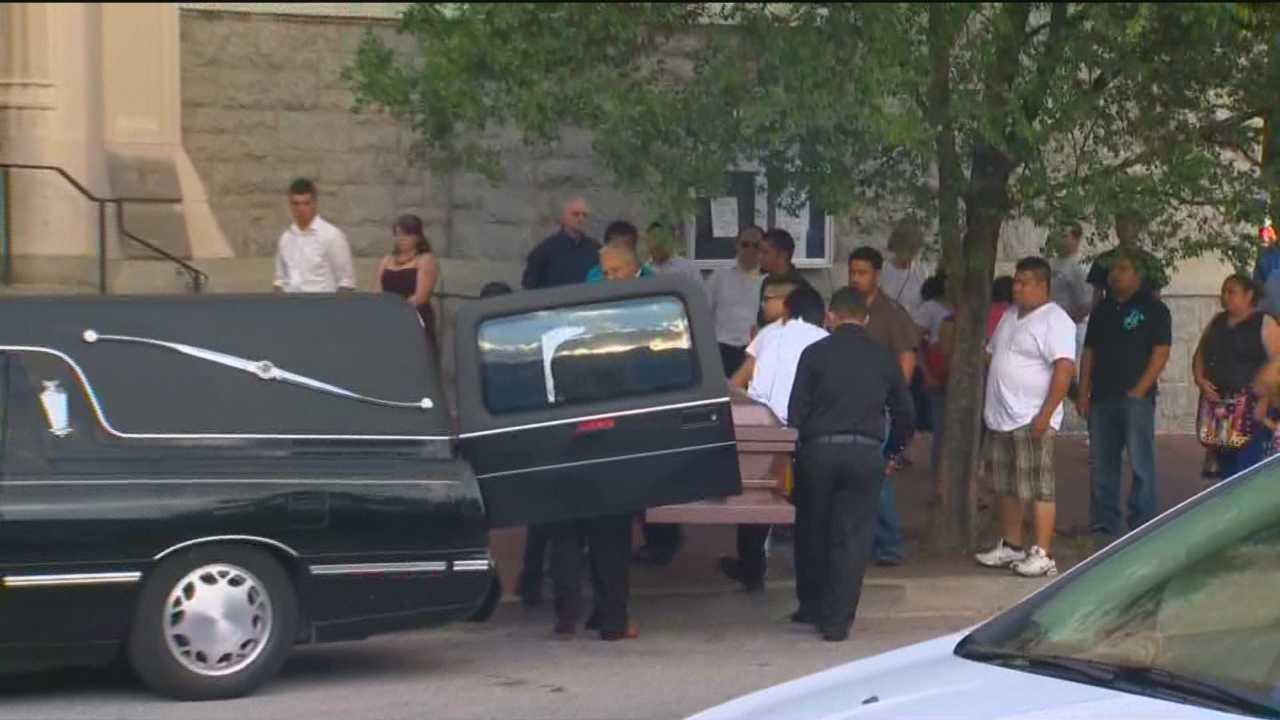 Oscar Torres funeral