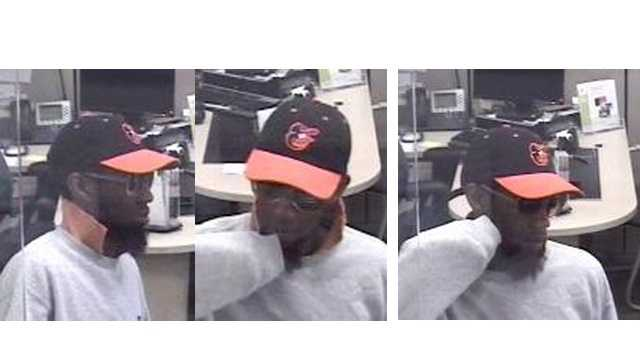 Police are looking for this man in connection with the May 23 robbery of an M&T Bank on Frederick Road in Catonsville.