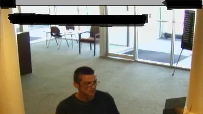 Harford County bank robbery suspe