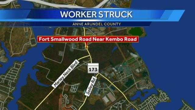 Fort Smallwood Road crash