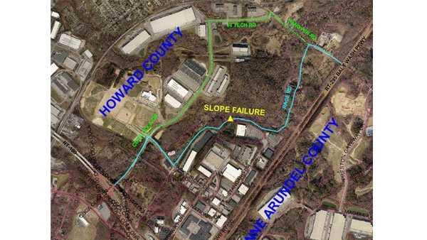 Map: Race Road closure
