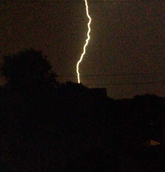 Lighting over Rosedale