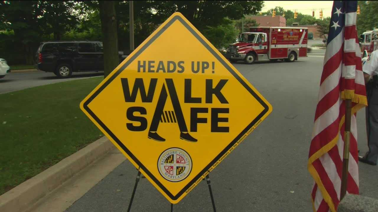 Baltimore County officials say the number of fatal pedestrian crashes increased in 2013 against each of the previous five years.