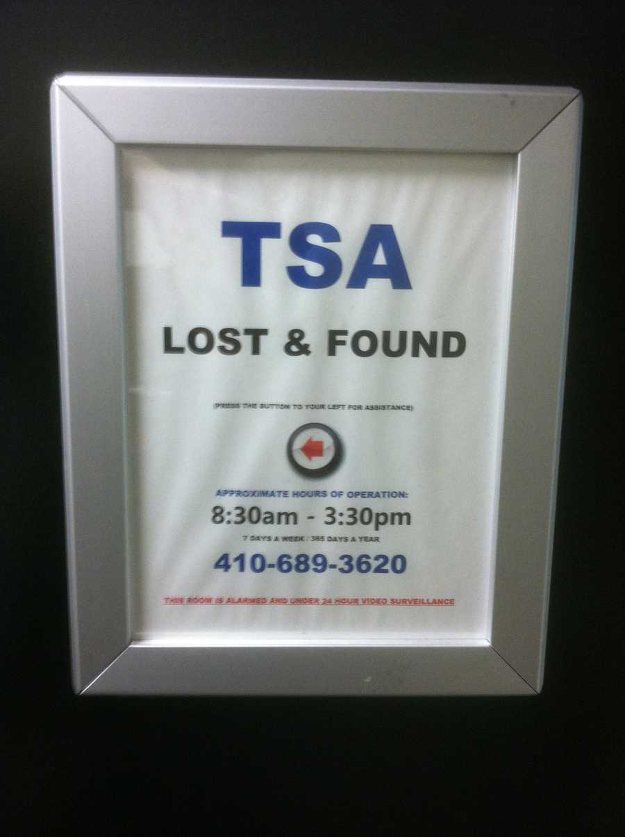 What happens to the items people leave behind at BWI Airport? TSA officials give a behind-the-scenes look.