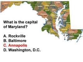 Toward the end of the Revolutionary War, Annapolis also served as capital to the newly forming American nation when the Continental Congress met in the city from Nov. 26, 1783 to June 3, 1784.