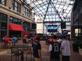 World Cup watch party at Power Plant Live!