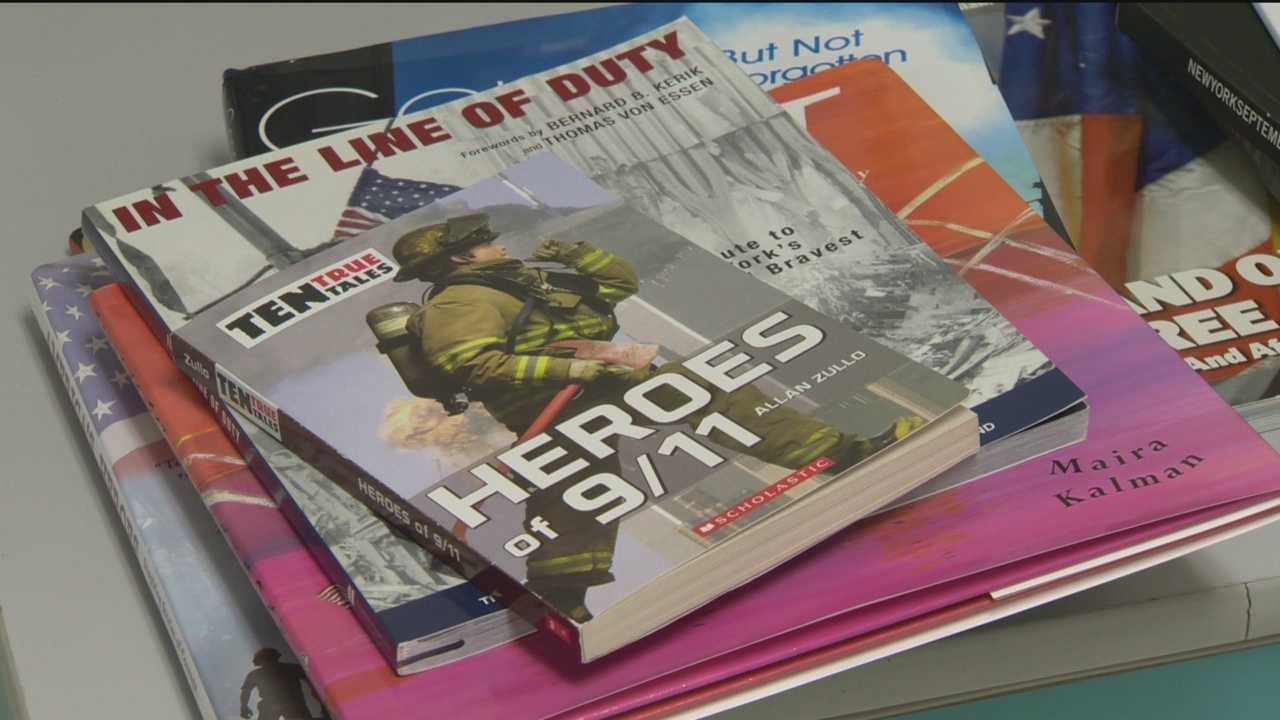 A group of students in Carroll County are in class for a summer enrichment program to learn about September 11, 2001.