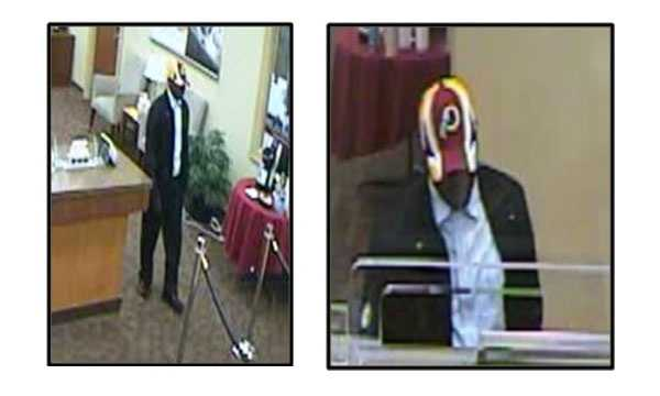 The FBI Cross Border Task Force is offering a$5,000 reward for information leading to the arrest of a serial bank robber who struck at banks inPrince George's County and the District of Columbia. Pictured here is the BB&T Bank robbery on May 29.