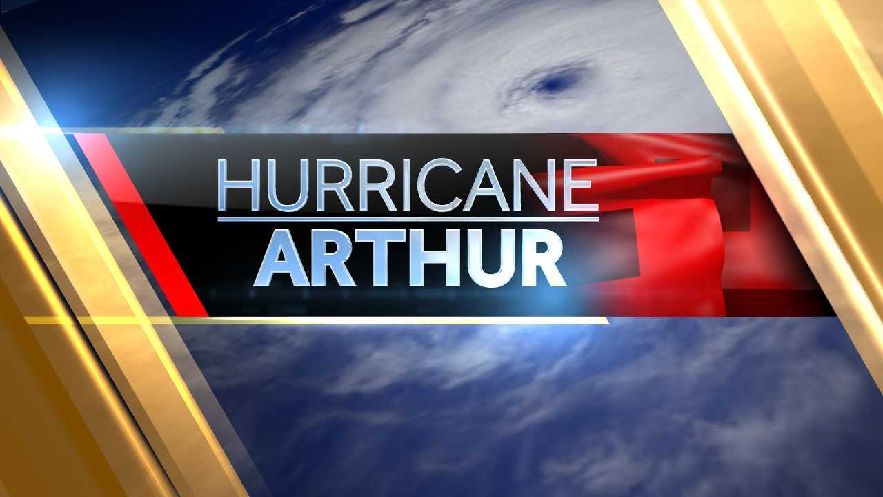 Hurricane Arthur Graphic