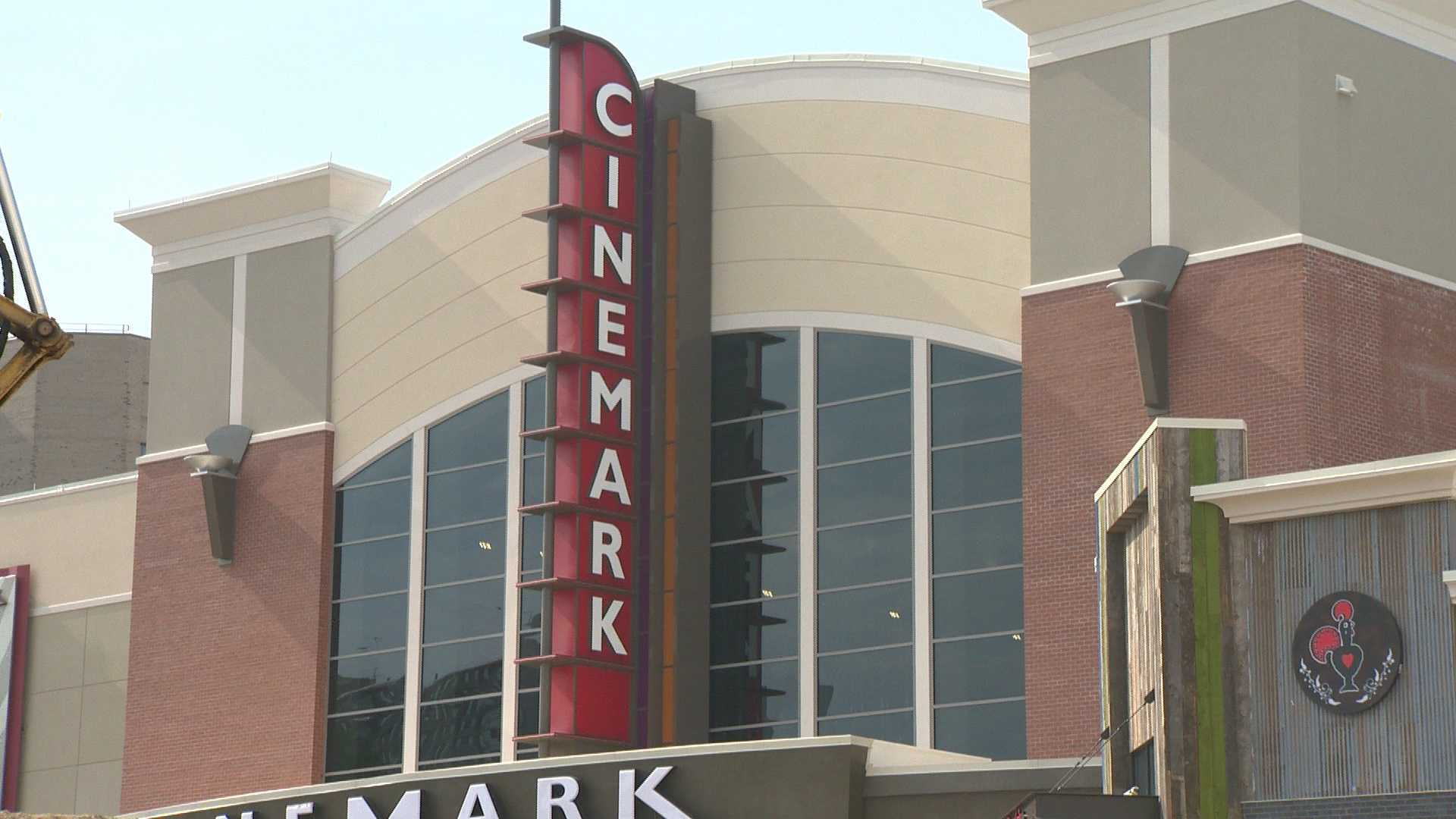 The new Cinemark Theater in Towson