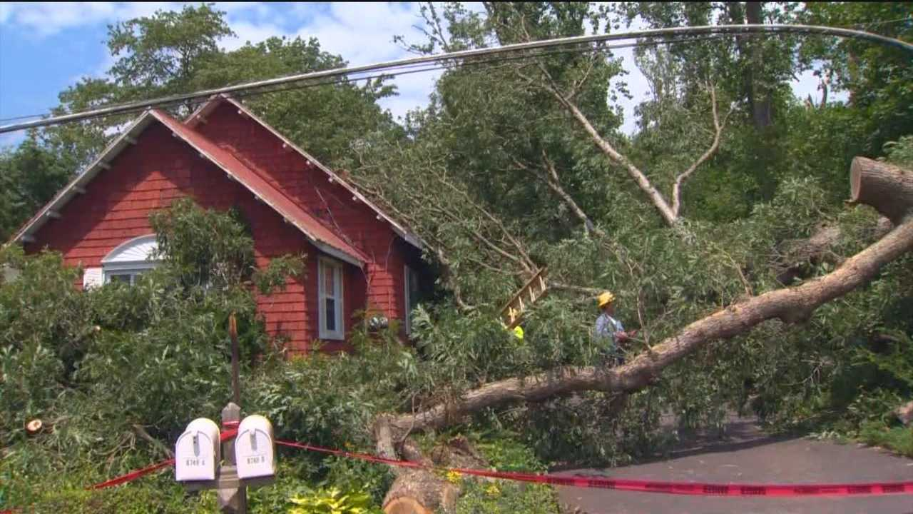 It's been a rough couple of days around the state as far as severe weather is concerned as back-to-back late afternoon storms on Tuesday and Wednesday have left a lot of destruction in their paths, which means power outages and lots of them.