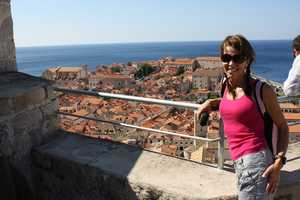 "Megan's favorite place to vacation is Croatia, ""It has a perfect combination of history, beaches and islands to explore."""