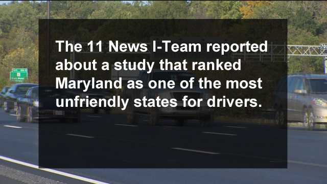 Read and watch the 11 News I-Team's story on the National Motorists Association study here