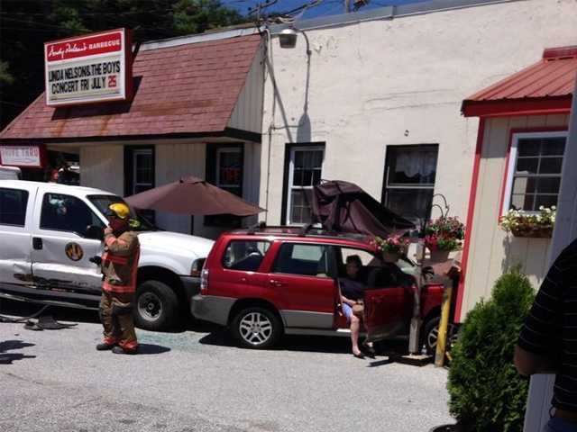 Crash at Andy Nelson's Barbecue