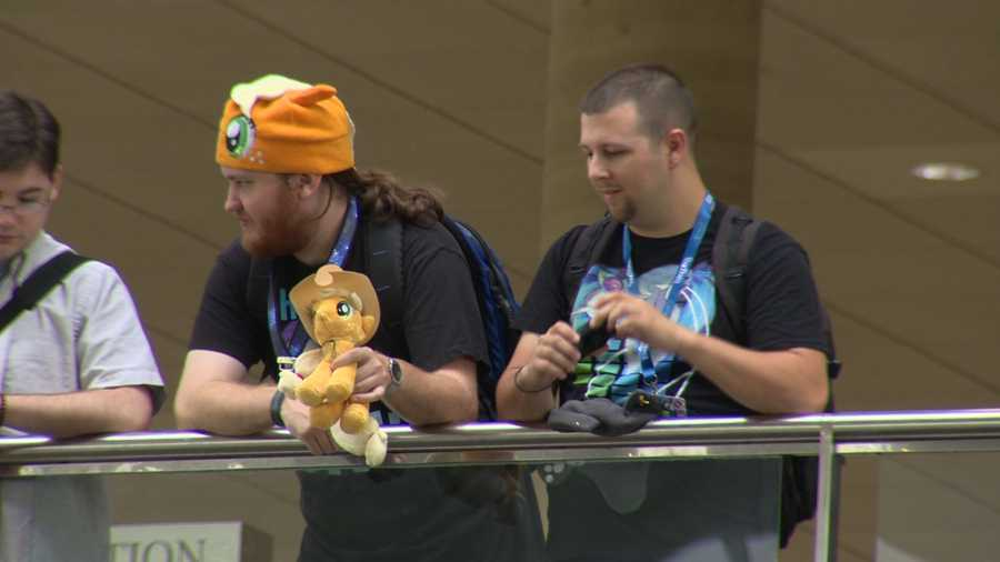 While it may sound weird, it's not horse play. The bronies have a huge following, and they take themselves very seriously.