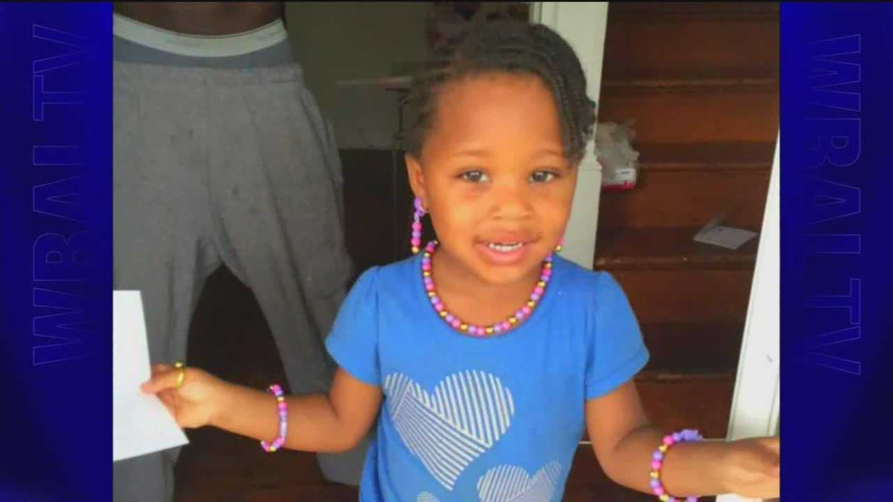 Baltimore City police say a 3-year-old girl, Mckenzie Elliott, was struck by a stray bullet, and her 21-year-old God-sister was also grazed by a bullet.
