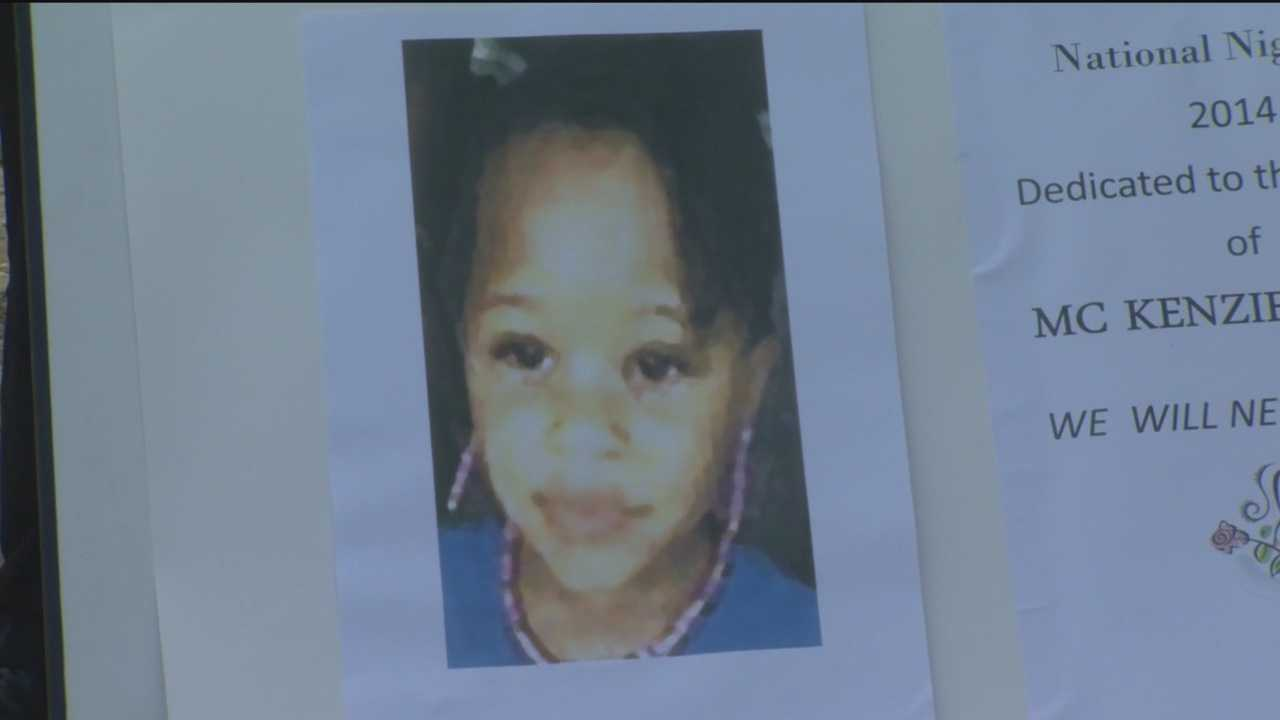 People across the country joined together to march against violence during National Night Out, including people in a Waverly neighborhood where a 3-year-old girl was killed.