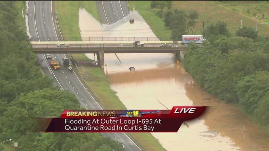 Beltway's Outer Loop closed at Quarantine Road