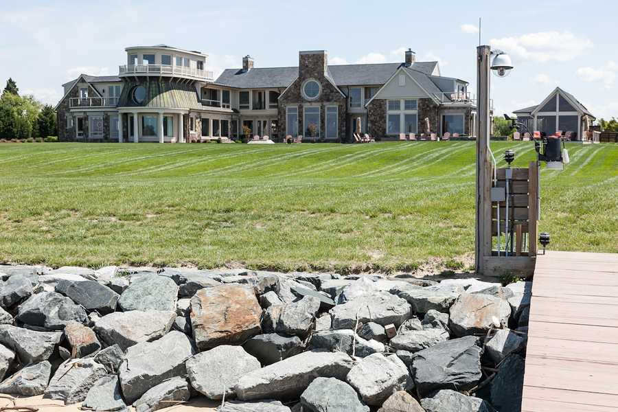 Conquest Manor, an eight-bed/11-bath estate on Kent Island, will be sold on Aug. 16 at auction.