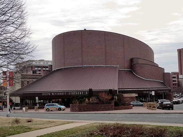 Meyerhoff Symphony Hall1212 Cathedral St, Baltimore, MD 21201
