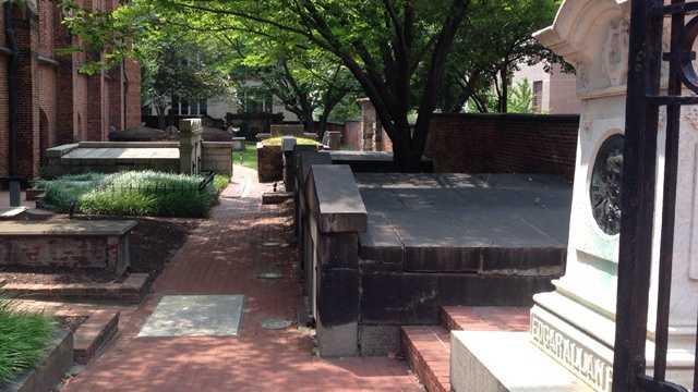 Westminster Hall and Burying Ground, Edgar Allen Poe gravesite515 W Fayette St, Baltimore, MD 21201