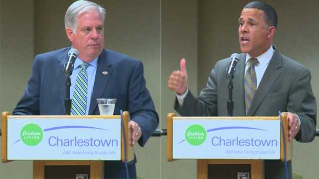 Larry Hogan, Anthony Brown at forum