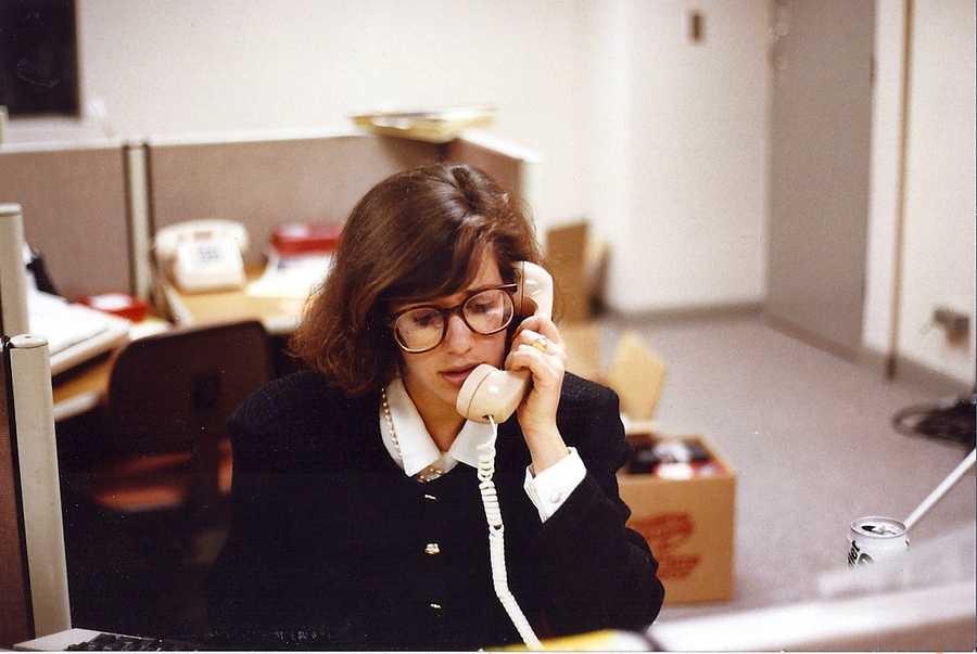 Deborah's first television job was at WYFF-TV in Greenville, South Carolina.