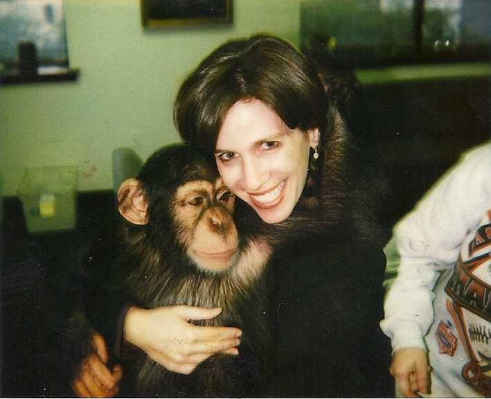 Deborah has always wanted a pet monkey