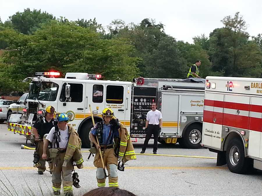Anne Arundel County businesses, including an adult day care, were evacuated after crews detected carbon monoxide.