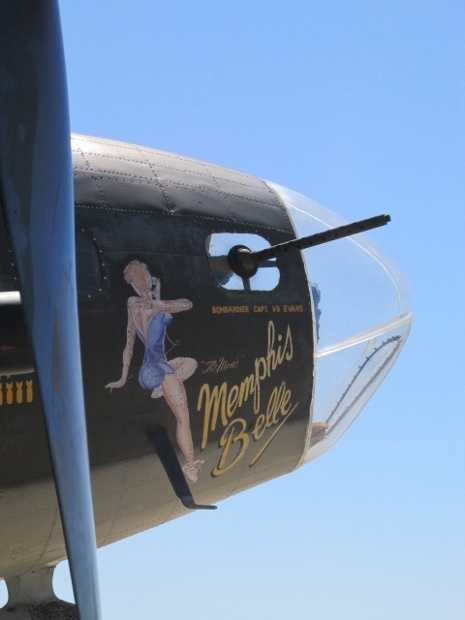 The tours this weekend are part of the 71st anniversary of the historic last mission of the famed Memphis Belle, the first B-17 to compete its 25-mission tour of duty -- a feat that was rare.