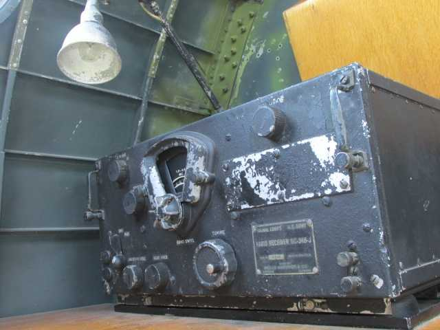 Antiquated radio equipment