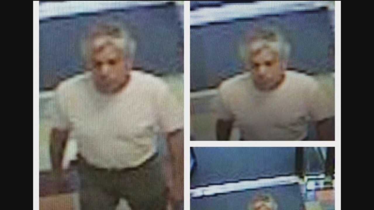 Police say they are looking for a man who exposed himself to a mom and her 10-year-old daughter inside a Goodwill store in Glen Burnie.