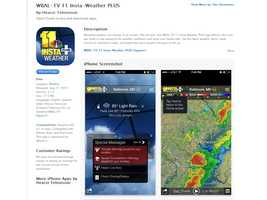 Get the WBAL Weather App to follow the latest forecast wherever you are.iPhone users tap here to download the app from iTunesAndroid users tap here for GooglePlay