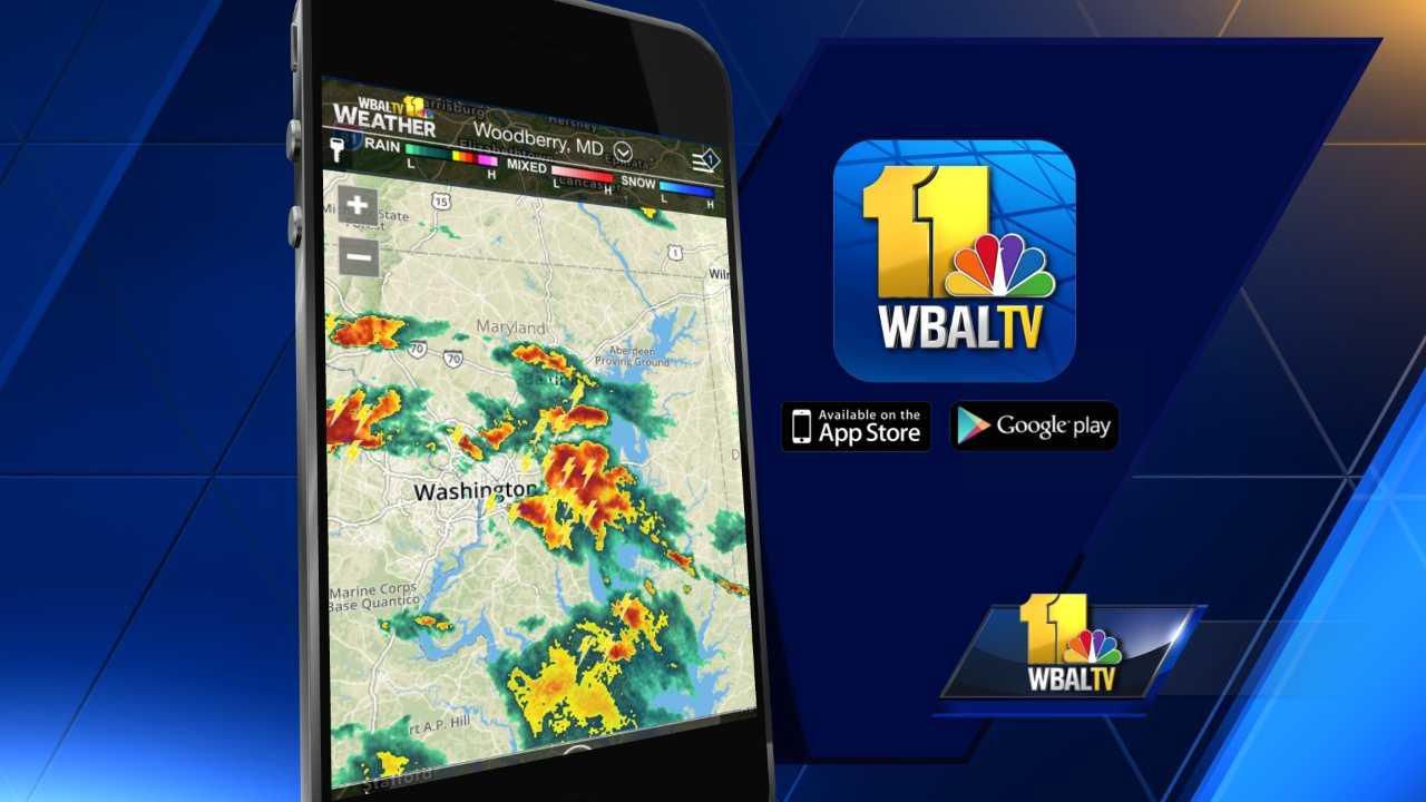 WBAL weather app