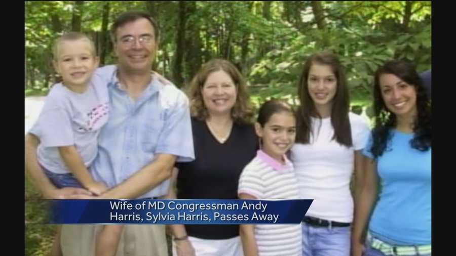 Rep. Andy Harris' wife has died, 11 News has confirmed.
