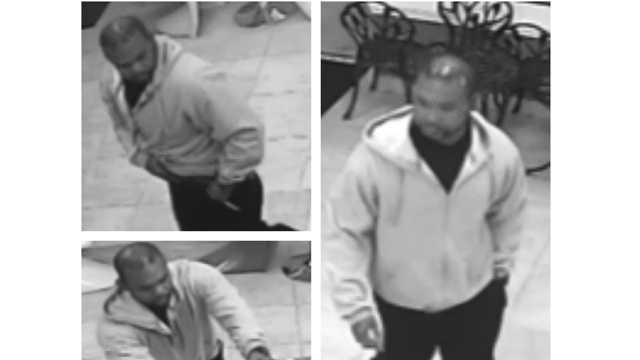 Police are looking for this man in connection with the robbery of the Yogurt In Love store in Hanover.