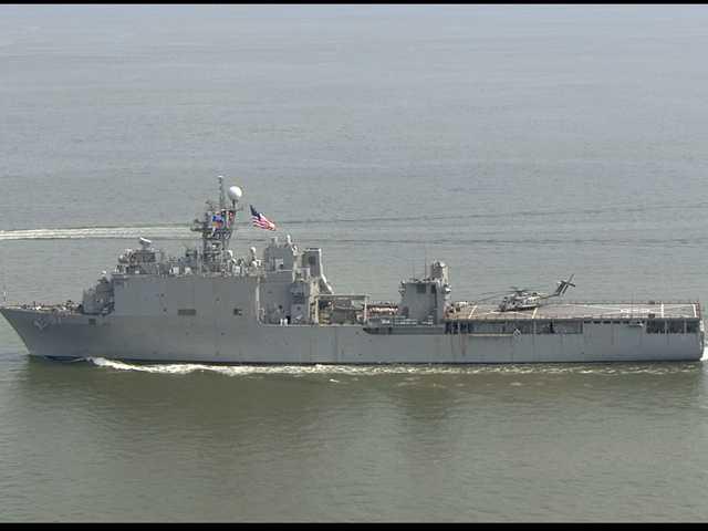 The USS Oak Hill is a Harpers Ferry-class dock landing ship of the U.S. Navy.