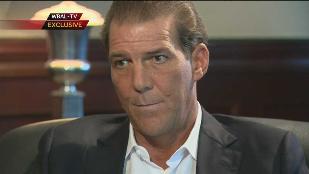 WBAL-TV 11 News I-Team lead investigative reporter Jayne Miller interviewed Bisciotti, asking if he thought after seeing the first video that something bad happened in the elevator between Ray Rice and his then fiancée Janay Palmer.