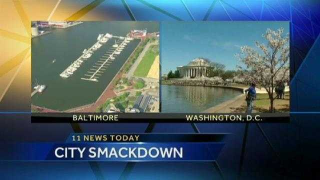 Yahoo Travel asks, which is better: Washington D.C. or Baltimore?