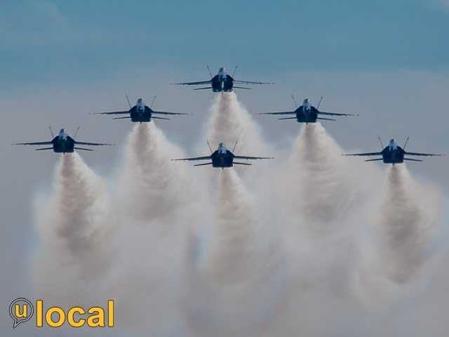 And, see Jennifer Franciotti's flight with the Blue Angels here.